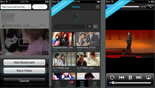 how to download a youtube video tp i phone