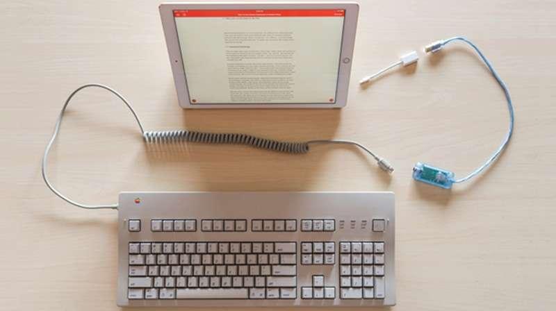 Keyboard PC Dipasang Di IPad Bisa Kok