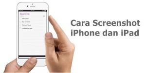 2 Cara Screenshot di iPhone dan iPad