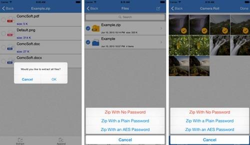 Cara Membuat File Zip Rar Di Iphone Menggunakan Izip